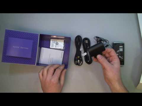 Sony Ericsson Xperia X2 unboxing