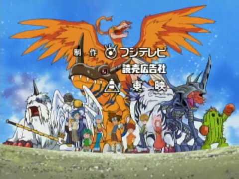 Digimon Adventure (Butter-Fly OP / Brazilian Fandub)