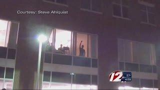 Firefighter Faces Discipline for Gesture During Flag Burning