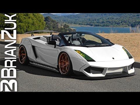 Liberty Walk Lamborghini Gallardo Spyder - In Action