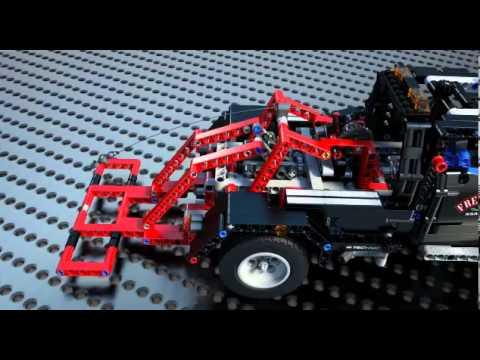 lego technic 9395 pick up tow truck en eurekakids youtube. Black Bedroom Furniture Sets. Home Design Ideas