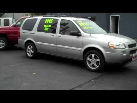 2005 Chevy Uplander Youtube