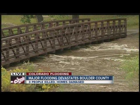 Major flooding devastates Boulder County