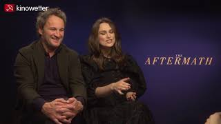 Interview Jason Clarke & Keira Knightley  THE AFTERMATH