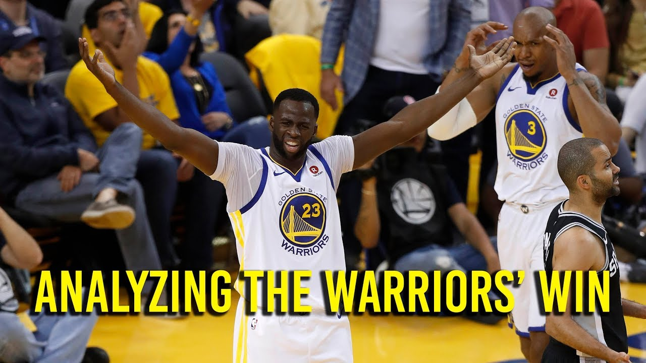 A closer look at how the Warriors beat the Spurs, took NBA Playoff series