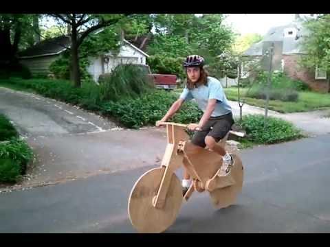 Wood Bicycle in Avondale Estates