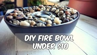 DIY Fire Bowl Under $10