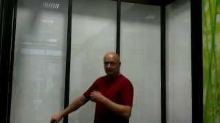 ЮБК - Обзор стеклянной раздвижной системы F5