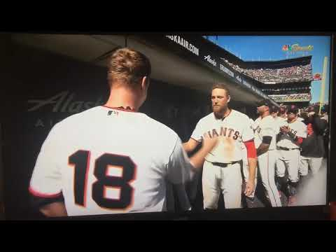 The last out of Matt Cain's career