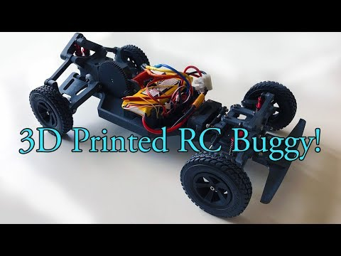 3D printed RC Buggy, the second version!
