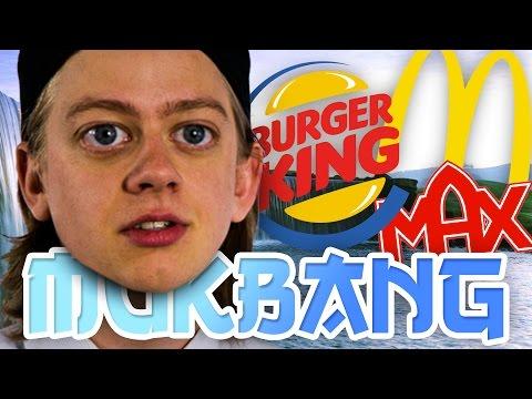 MAX vs BURGER KING vs McDONALDS?!?!
