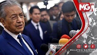 """TERKINI : """"Takda Dalam Sejarah Malaysia!, Kerajaan Pinjam Begitu Banyak Duit"""" - Tun Mahathir"""