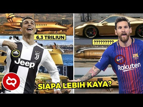 Jadi Pemain Sepak Bola Paling Tajir, Ini Perbandingan Kekayaan Messi dan C. Ronaldo