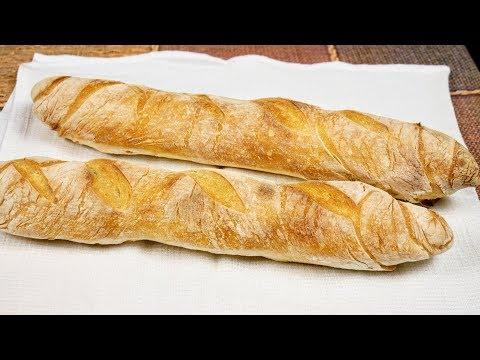 Как приготовить БАГЕТ своими руками. Хлеб в строгий пост, цыганка готовит. Gipsy Cuisine.
