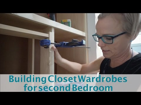 Building Wardrobe Cabinets For Bedroom 2 Jack And Jill Part 11