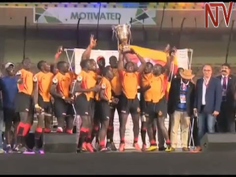 Uganda beats Namibia to win Africa Sevens tournament
