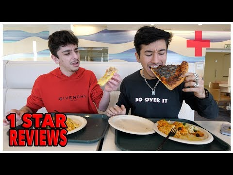 Eating At The Worst Reviewed Hospital In My City (1 Star) with FaZe Rug