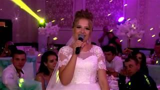 Невеста поёт для родителей в благодарность 2 августа 2019
