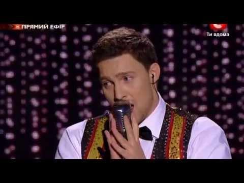 Х-фактор-2 Украина. Олег Кензов. 8 прямой эфир 2-я песня
