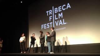Arnel Pineda, Journey lead singer, performing at Tribeca Film Festival.