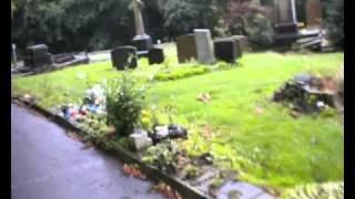Ian Curtis memorial gravestone