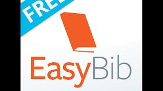 """EasyBib el """"Buscador de Referencias"""""""
