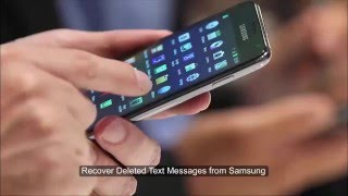 How to Recover Deleted Text Messages from Samsung