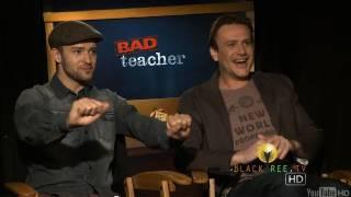 justin timberlake and jason segel discuss their own bad teacher