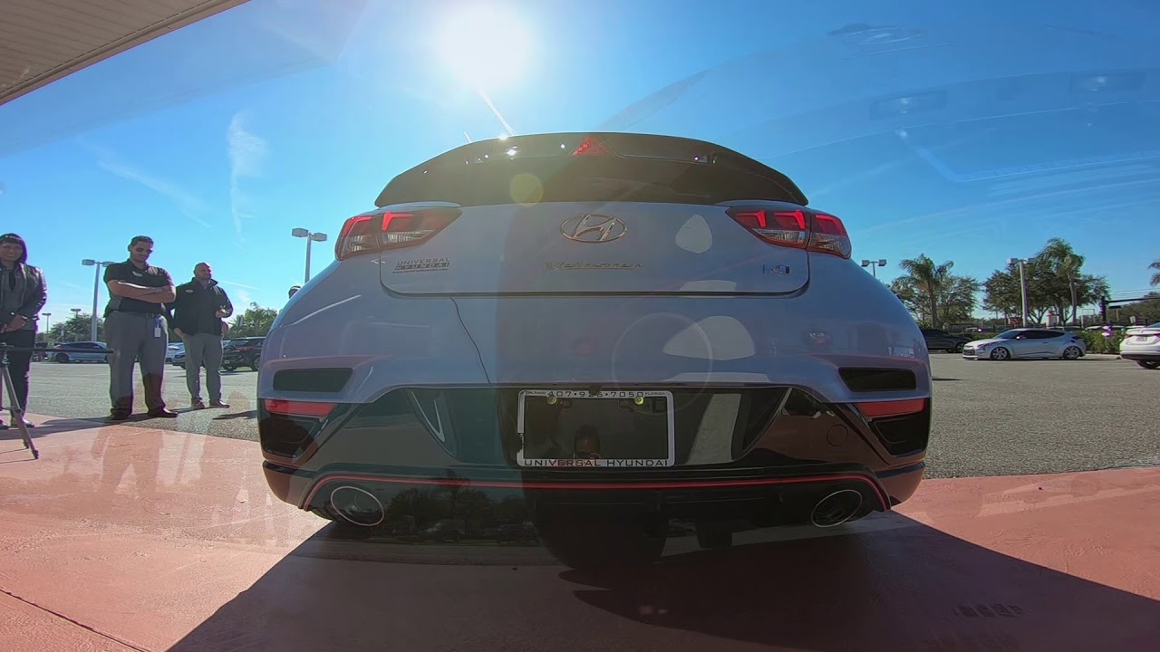 Sweet Exhaust Sounds of the 2019 Hyundai Veloster N