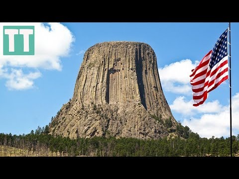Woah, the DEVILS TOWER!