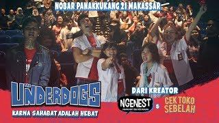 THE UNDERDOGS Nobar di Panakkukang 21 Makassar