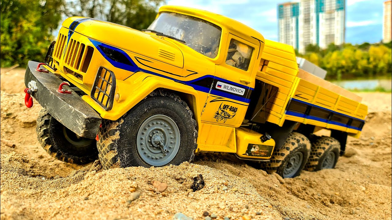 RC CAR ZIL 131 6x6 Loading and Transportation of Cargo - Wilimovich
