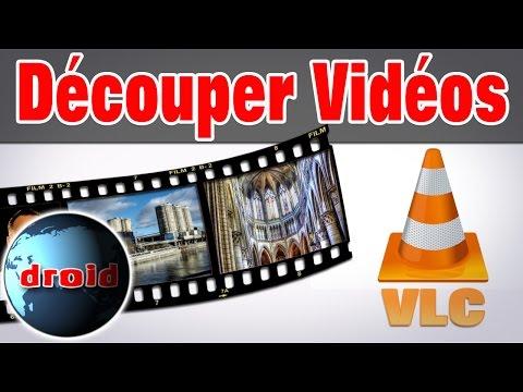 Vlc couper extraire une vidéo avec  VLC vidéolan le découpage.
