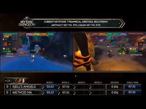 WoW Mythic Global Championship MDI 2018 Day 2! Kjelll's Angels vs Method NA