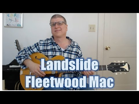 How to Play Landslide by Fleetwood Mac (solo with TAB)