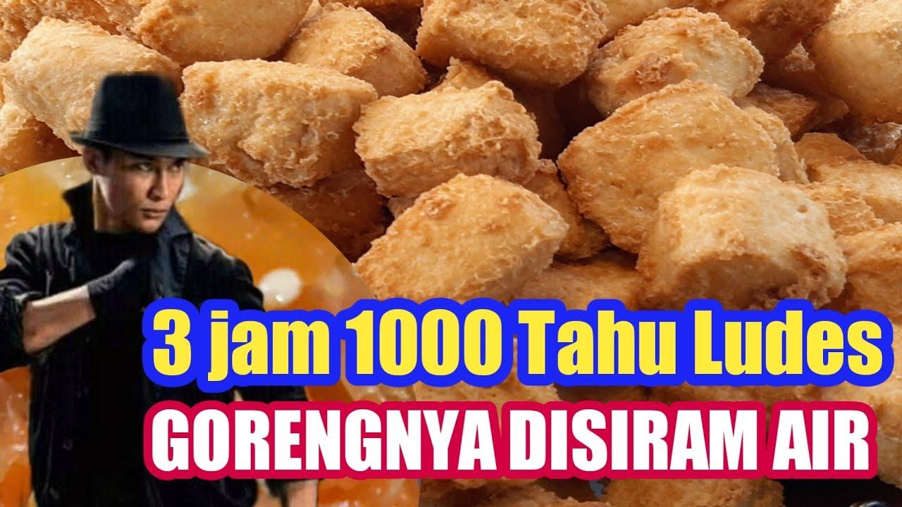 Download 3 Jam 1000 Tahu Ludes Dan Gorengnya DiSiram Air || Kuliner Kediri