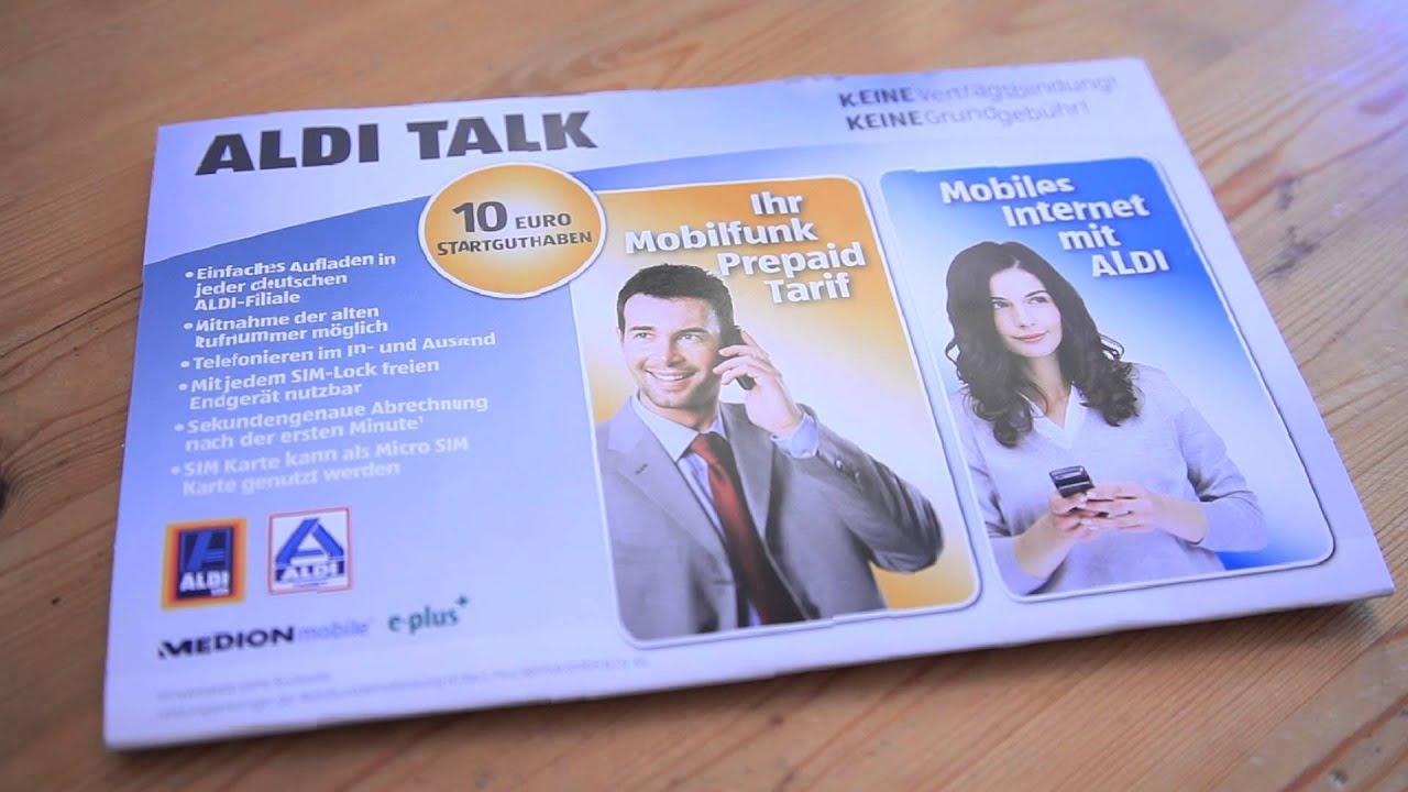 Aldi Talk Rufnummer Mitnehmen