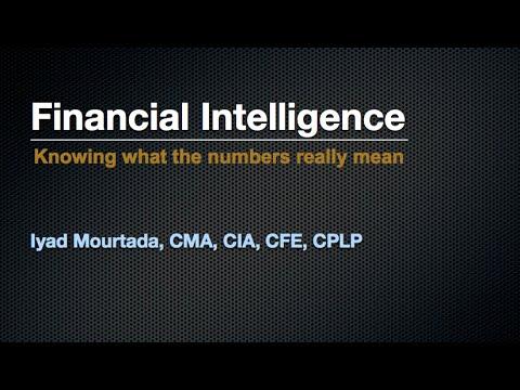 Financial Intelligence Training - Iyad Mourtada