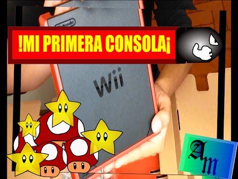 Wii mini unboxing - !Al fín tengo Wii¡