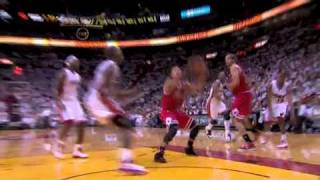 Dunk Porn: D-Rose Dunking on Joel Anthony's Face