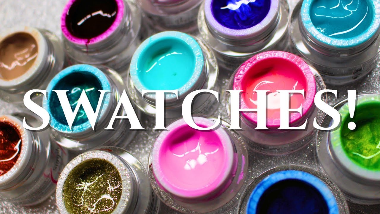 ♡ Swatches: en Vogue Simply Colourgel - YouTube