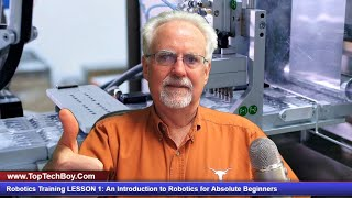 Robotics Training LESSON 1: An Introduction to Robotics for Absolute Beginners