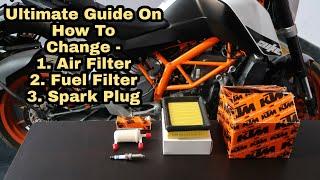 Service Kit : KTM Duke 125/200/390 : Ultimate Guide