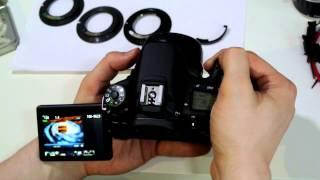 """УРОК 5 РЕЖИМ """"ЛОВУШКА ФОКУСА"""" одуванчика Gfoto X PRO для Canon EOS"""