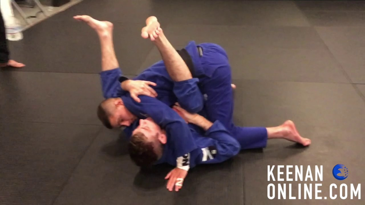 The Best Jiujitsu Move For Total Beginners Keenanonline Com Youtube