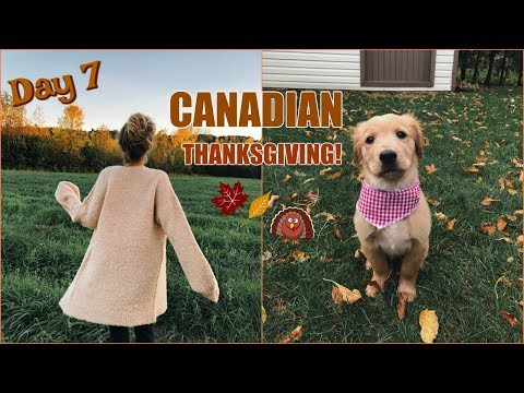 Vlogtober Day 7 // Happy Canadian Thanksgiving!