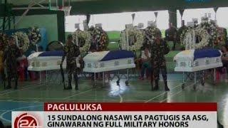 24 oras pres duterte nakiramay sa mga naulila ng mga sundalo at dumalaw sa mga sugatan