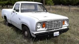 1978 Dodge D100 225 Slant 6 1/2ton 2wd