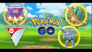WE USED MACHAMP AND CHARIZARD IN GO BATTLE LEAGUE! | Pokemon Go PvP Ultra League Battles