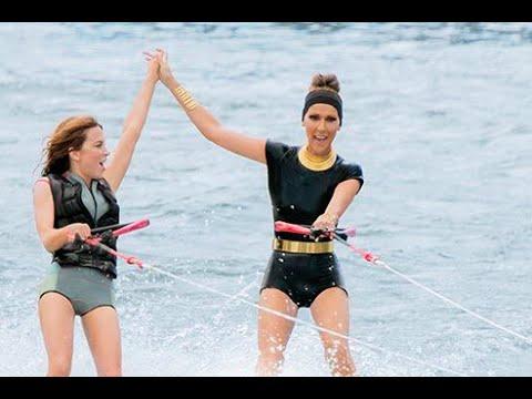 L'été Indien | Entrée en ski nautique de Julie Snyder et Céline Dion